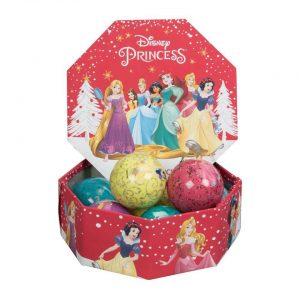 Disney Princess Christmas Bauble set