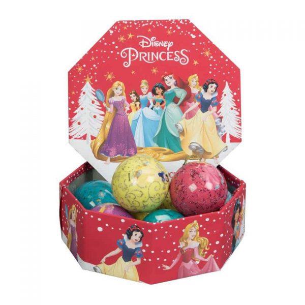 Disney Princess Christmas Bauble set