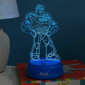 Disney Pixar Toy Story 4 BUZZ LIGHTYEAR LED Laser Eteched Light