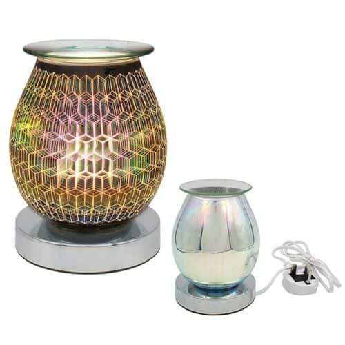 Desire Aroma Lamp Electric Oil Burner - Rhombus