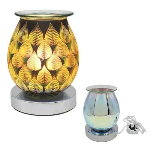 Desire Aroma Lamp Electric Wax Melt Oil Burner - Flames