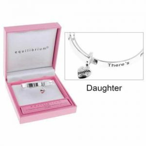 Equilibrium DAUGHTER Girls Childrens Bracelet with Heart Charm