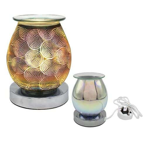 Desire Aroma Lamp Electric Wax Melt Oil Burner - Circles