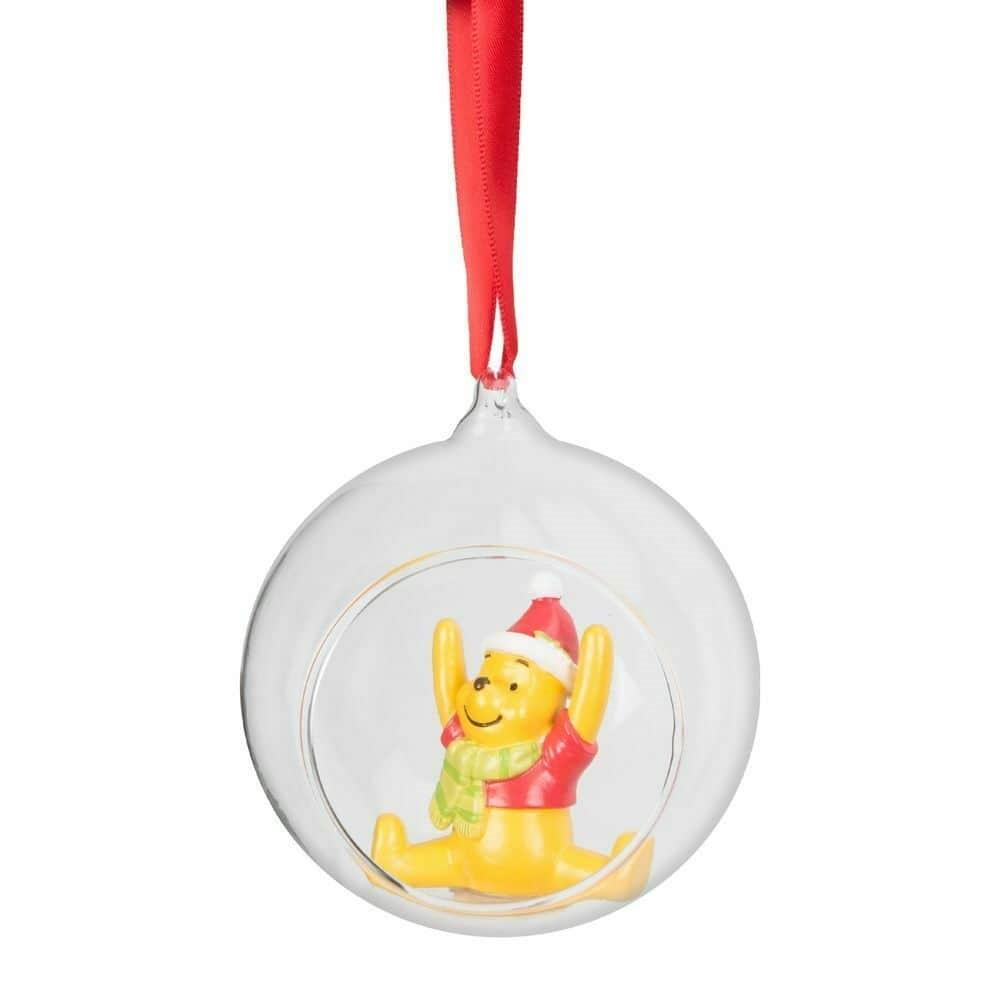 Disney Winnie The Pooh Christmas Tree Bauble and Disney Piglet Christmas Tree Bauble