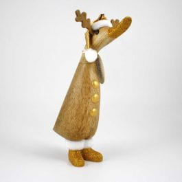 DCUK Gold Reindeer