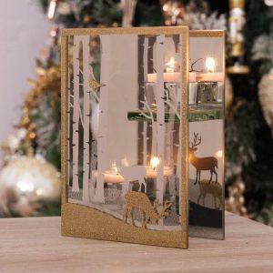 Christmas Led & Candle Tealight Holders