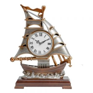 sailing boat mantel clock