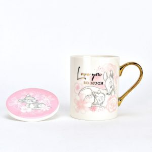 Bambi mug and coaster